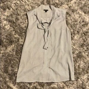 Ann Taylor women's top with bow detail